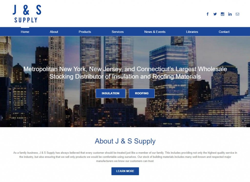 J & S New Website